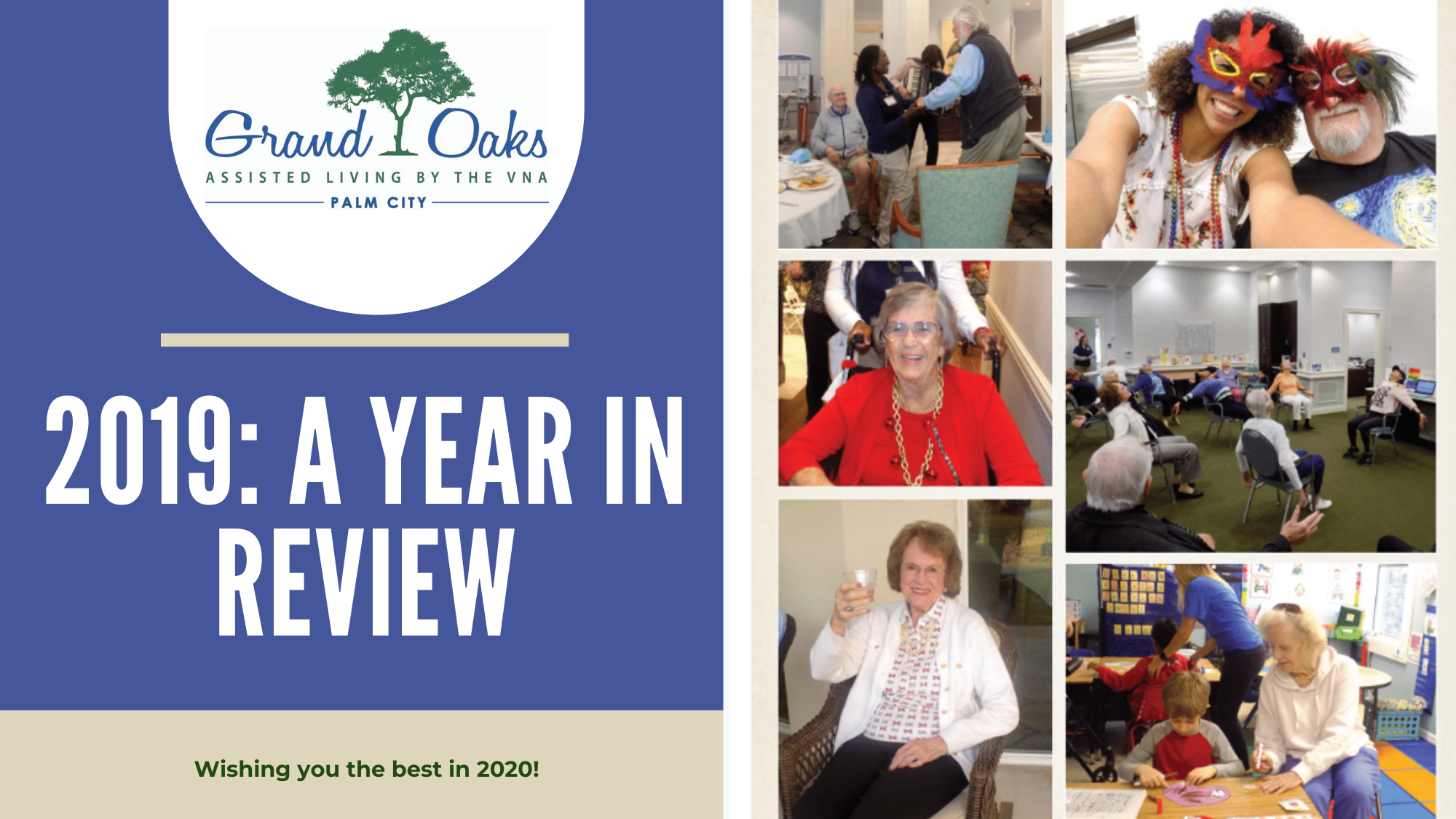 Grand Oaks of Palm City's Year in Review